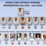 World Chefs Without Borders Committee Members ~ July 2013 – June 2016