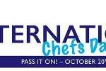 20 Oct 2014 ~ International Chefs Day 2014 theme: Pass it on!