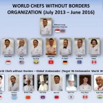 WCWB ~ World Chefs Without Borders Committee (July 2013 – June 2016)